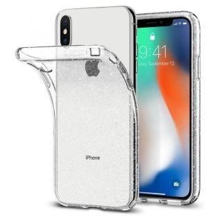 【iPhone Xケース】Spigen リキッドクリスタルグリッター グリッター加工 iPhone X_1