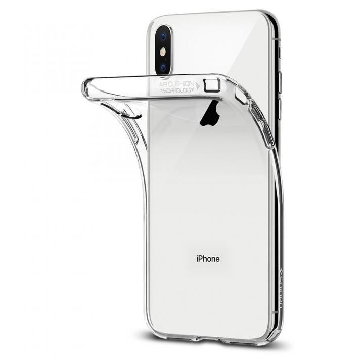 Spigen リキッドクリスタル クリスタル iPhone X
