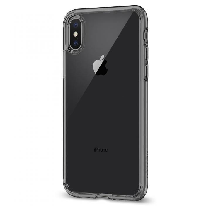 Spigen ウルトラハイブリッド クリスタルクリア iPhone X