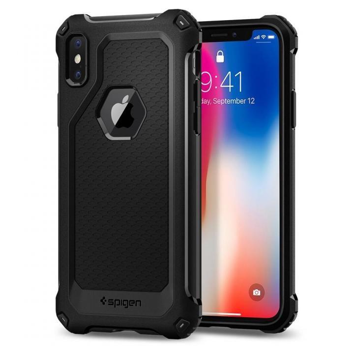 Spigen ラギッドアーマー Extra ブラック iPhone X