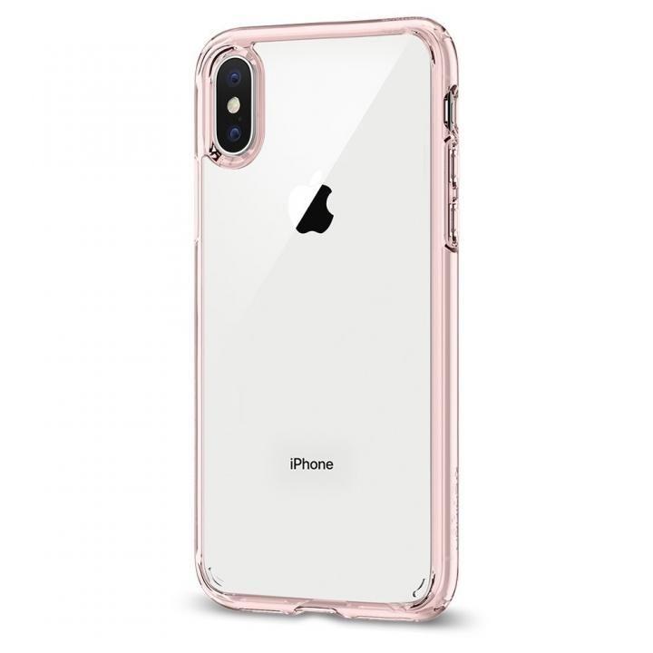 iPhone X ケース Spigen ウルトラハイブリッド ローズクリスタル iPhone X_0