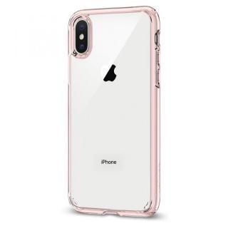 Spigen ウルトラハイブリッド ローズクリスタル iPhone X