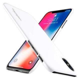 iPhone X ケース Spigen シンフィット ホワイト iPhone X