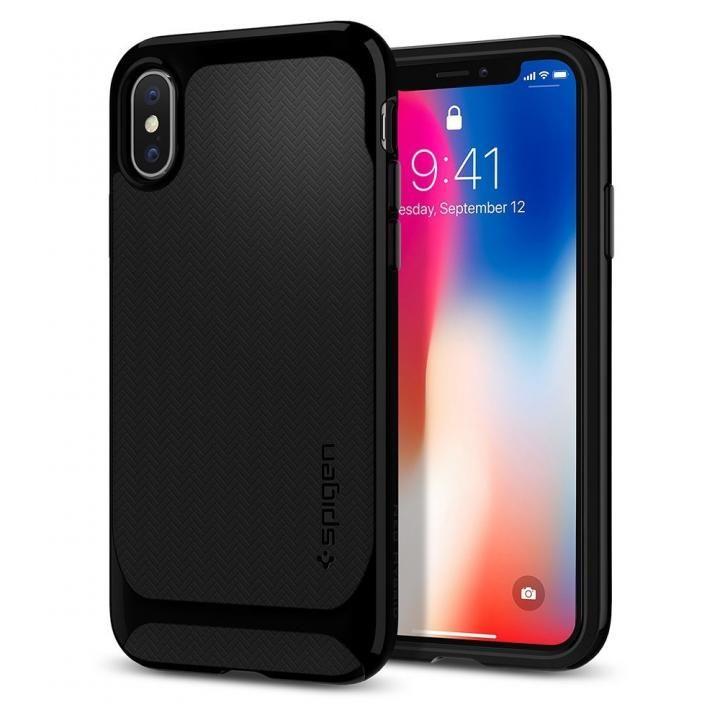 iPhone X ケース Spigen ネオハイブリッド ブラック iPhone X_0