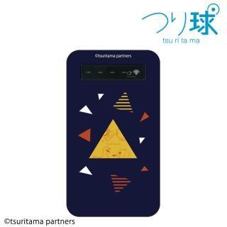 つり球 モバイルバッテリー 4000mAh ネイビー【12月中旬】