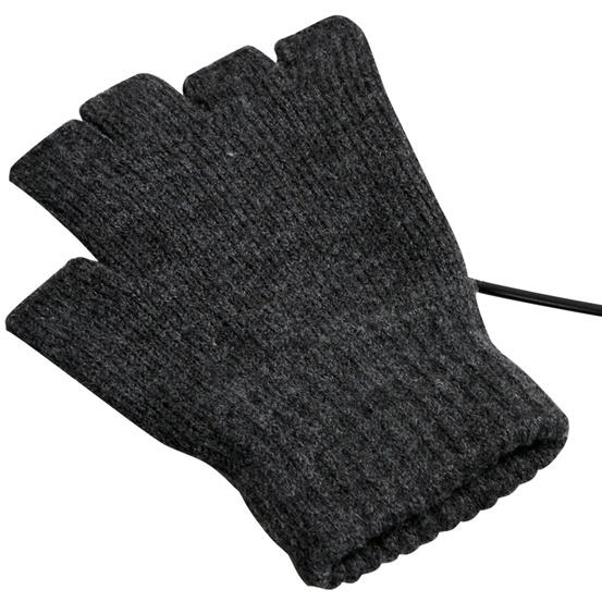 指先まで温かい!USB指までヒーター手袋_0