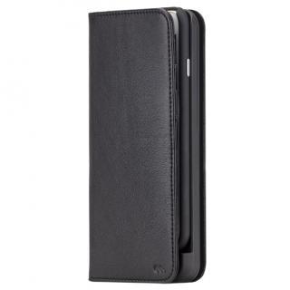 【iPhone6s/6ケース】[3500mAh]バッテリー内蔵本革手帳型ケース ブラック iPhone 6s/6_2