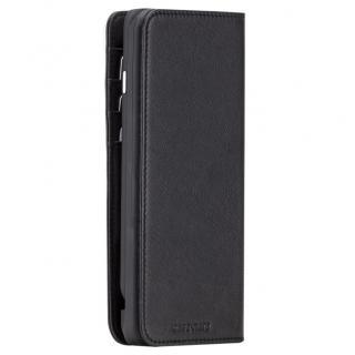 【iPhone6s/6ケース】[3500mAh]バッテリー内蔵本革手帳型ケース ブラック iPhone 6s/6_3