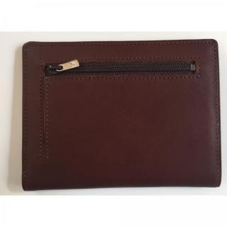 カードをたくさん入れても薄い財布NEXT 小銭入れ付き チョコ【4月上旬】