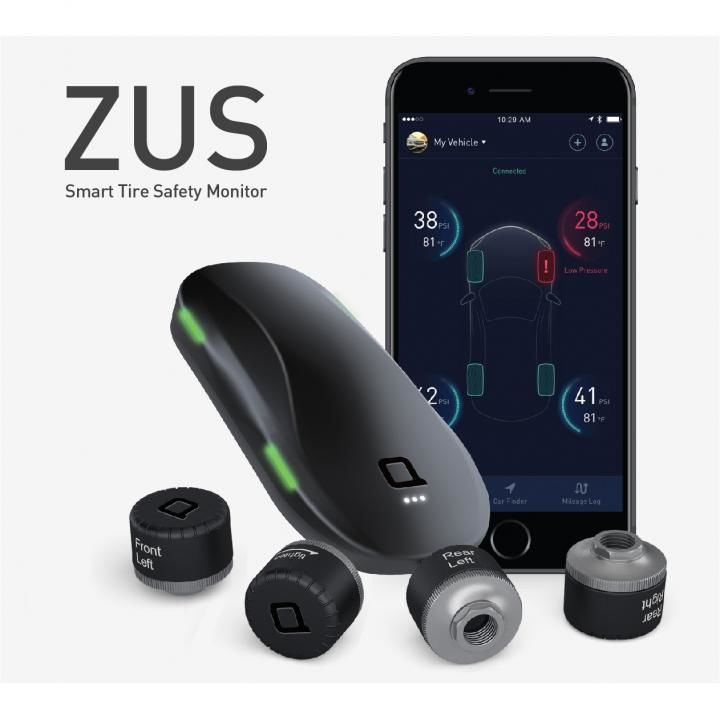 ZUS Smart Tire Safety Monitor タイヤモニター【12月下旬】_0