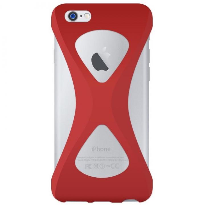 iPhone6s/6 ケース Palmo 落下防止シリコンケース レッド iPhone 6s/6_0