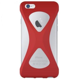 【iPhone6s/6ケース】Palmo 落下防止シリコンケース レッド iPhone 6s/6