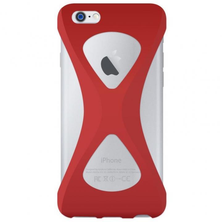 iPhone6s Plus/6 Plus ケース Palmo 落下防止シリコンケース レッド iPhone 6s Plus/6 Plus_0