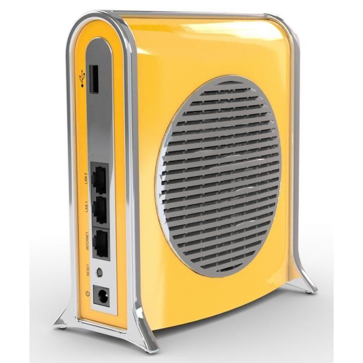 DropAP パパママ安心。多機能スマート無線ルーター イエロー_0