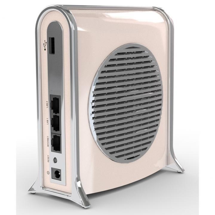 DropAP パパママ安心。多機能スマート無線ルーター ベージュ_0