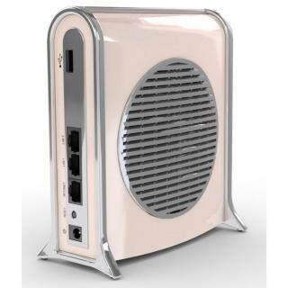 [AppBank先行]DropAP パパママ安心。多機能スマート無線ルーター ベージュ