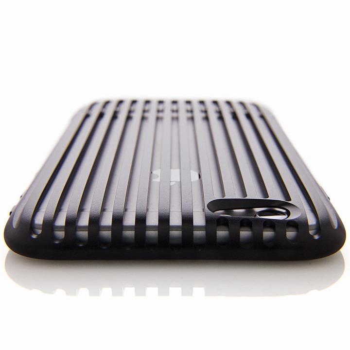 iPhone6 ケース 超々ジュラルミンA7075ケース SQUAIR The Slit ブラック iPhone 6_0