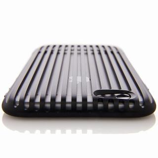 超々ジュラルミンA7075ケース SQUAIR The Slit ブラック iPhone 6
