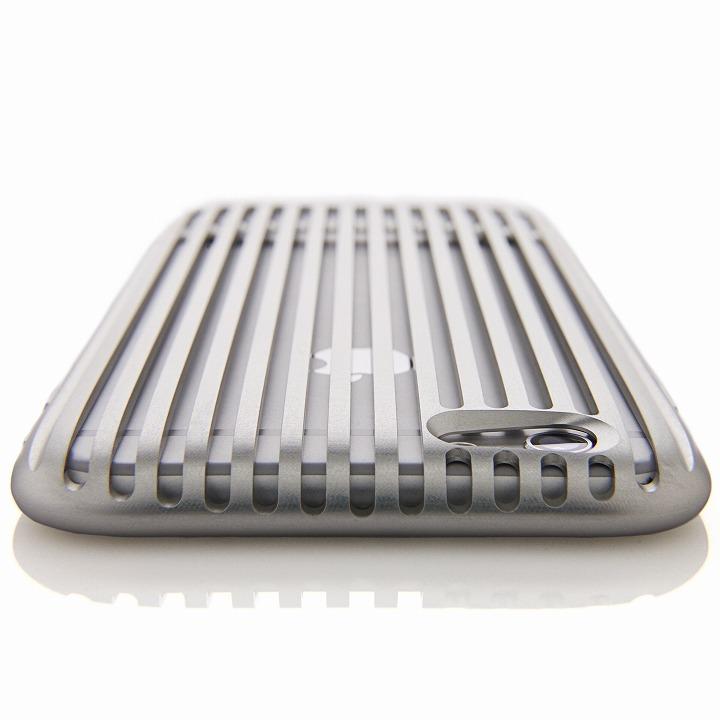 超々ジュラルミンA7075ケース SQUAIR The Slit シルバー iPhone 6