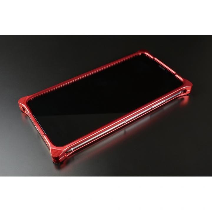 iPhone XS/X ケース ギルドデザイン ソリッドバンパー  レッド iPhone XS/X_0