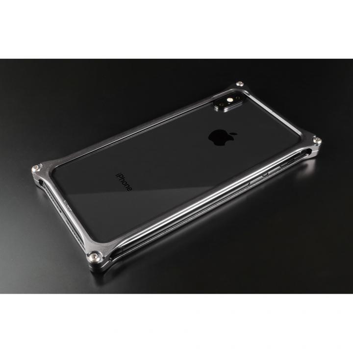 iPhone XS/X ケース ギルドデザイン ソリッドバンパー  グレー iPhone XS/X_0