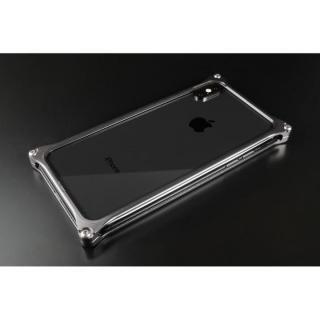 iPhone XS/X ケース ギルドデザイン ソリッドバンパー  グレー iPhone XS/X