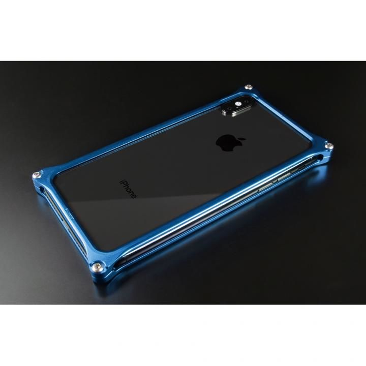 iPhone XS/X ケース ギルドデザイン ソリッドバンパー  ブルー iPhone XS/X_0