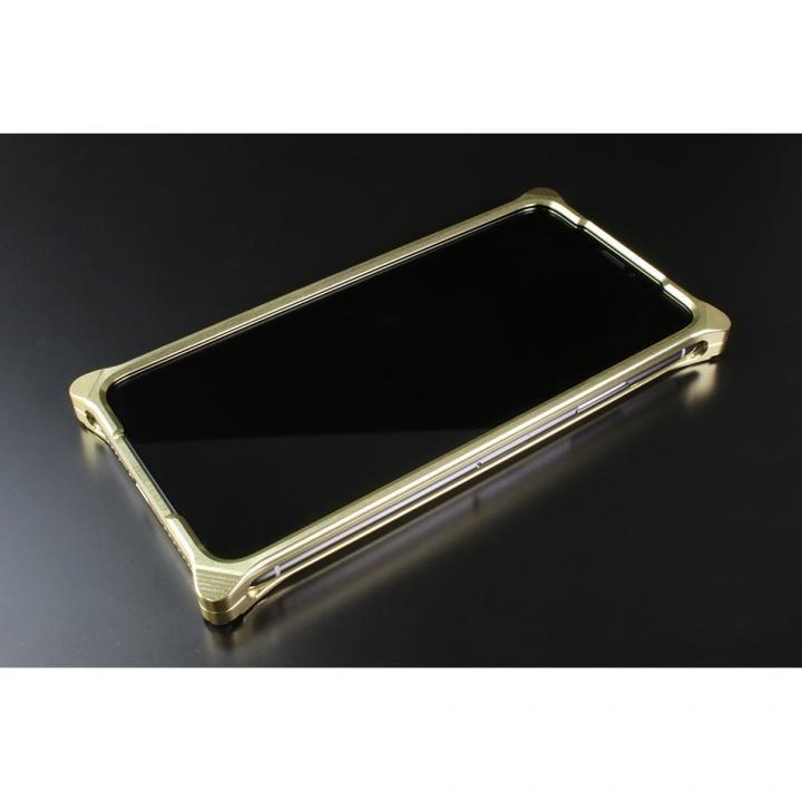 iPhone XS/X ケース ギルドデザイン ソリッドバンパー  シャンパンゴールド iPhone XS/X_0