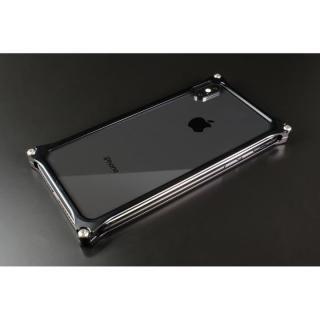 【iPhone XS/Xケース】ギルドデザイン ソリッドバンパー  ブラック iPhone XS/X_1