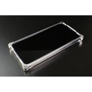 ギルドデザイン ソリッドバンパー  シルバー iPhone XS/X