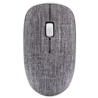 Rapoo 3510 Plus 布張り仕上げ 3ボタン薄型ワイヤレスマウス ダークグレイ