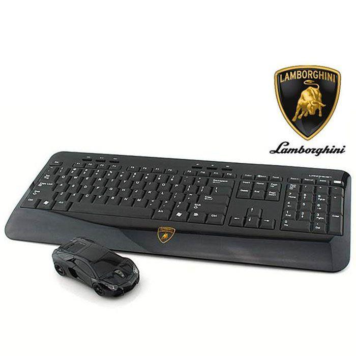 Lamborghini LP700 2.4G無線マウス+キーボード ブラック_0
