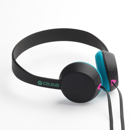 COLOUD KNOCK Blocks Black/Cyan