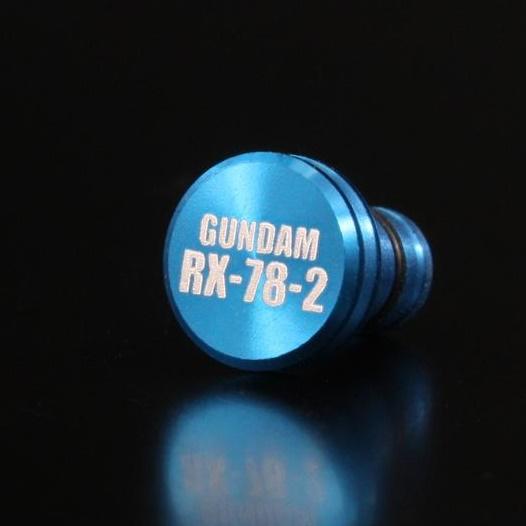 機動戦士ガンダム アルミイヤホンジャックカバー RX/ブルー_0