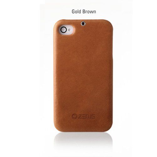 iPhone4s/4ケース エスティメ E'stime bar Gold Brown