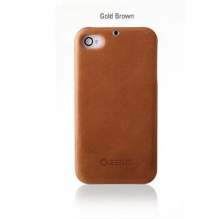 【その他のiPhone/iPodケース】iPhone4s/4ケース エスティメ E'stime bar Gold Brown