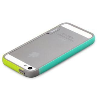 【iPhone SE/5s/5ケース】iPhone SE/5s/5 Bumper Trio case グリーン+ミント_1