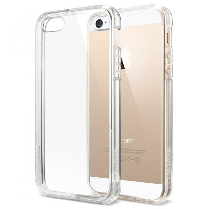 iPhone SE/5s/5 ケース iPhone SE/5s / 5 ケース ウルトラ・ハイブリッド[クリスタル・クリア]_0