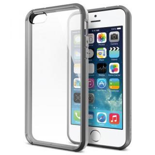 【iPhone5s ケース】iPhone SE/5s / 5 ケース ウルトラ・ハイブリッド[グレー]