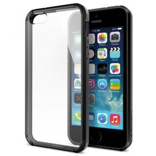 iPhone SE/5s / 5 ケース ウルトラ・ハイブリッド[ブラック]