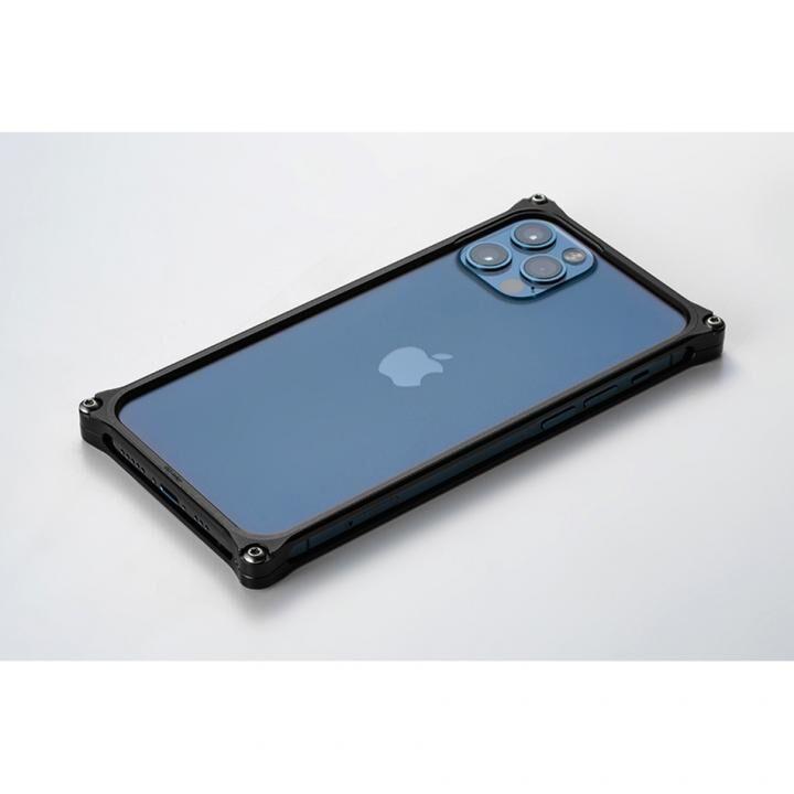 ギルドデザイン ソリッドバンパー for iPhone 12/12 Pro ブラック_0