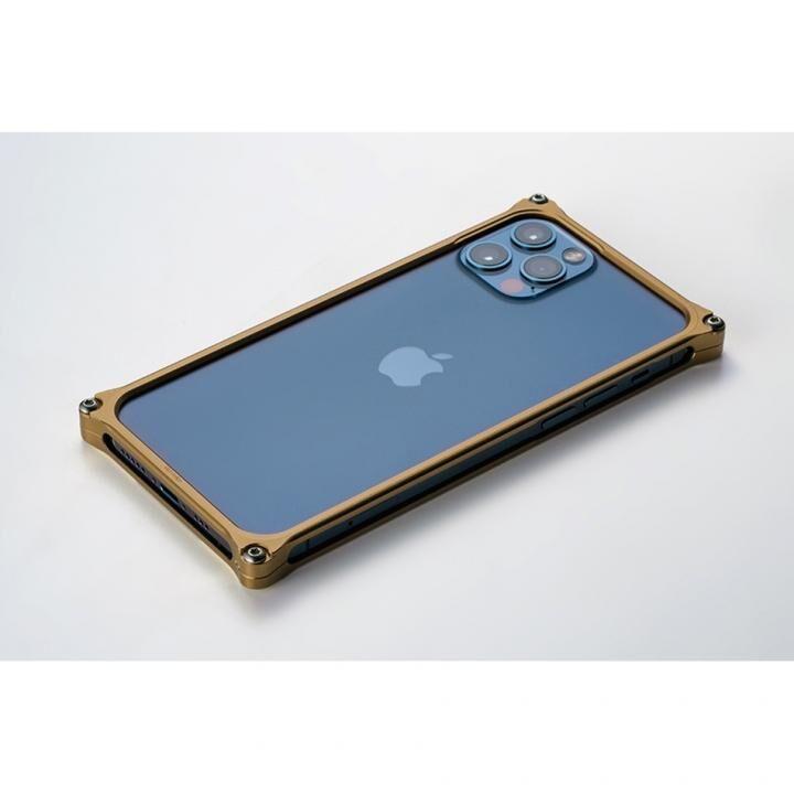 ギルドデザイン ソリッドバンパー for iPhone 12/12 Pro シグネイチャーゴールド_0