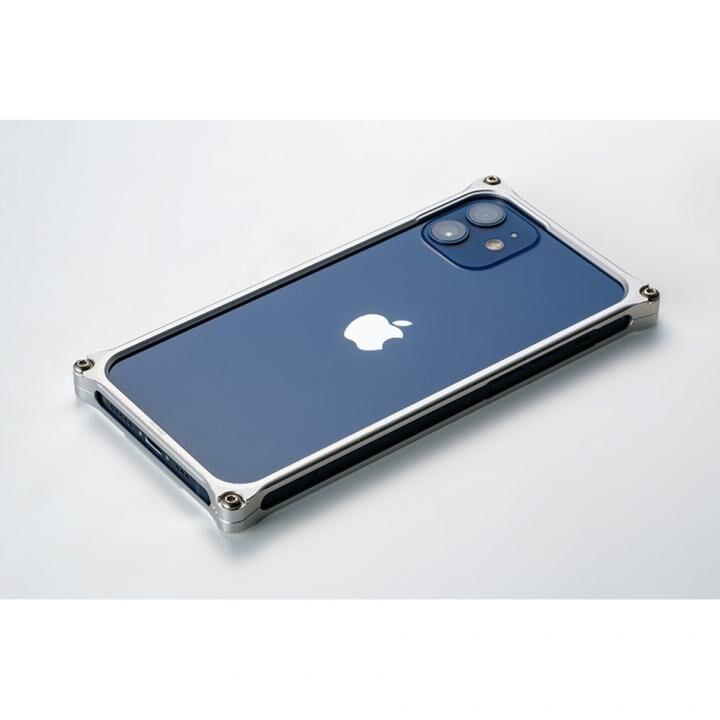 ギルドデザイン ソリッドバンパー for iPhone 12 mini シルバー_0