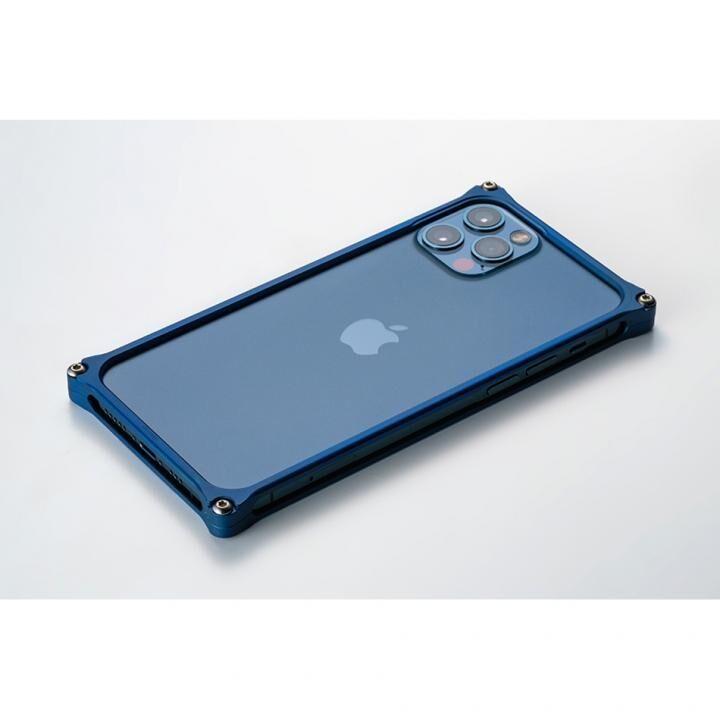 ギルドデザイン ソリッドバンパー for iPhone 12/12 Pro マットブルー_0