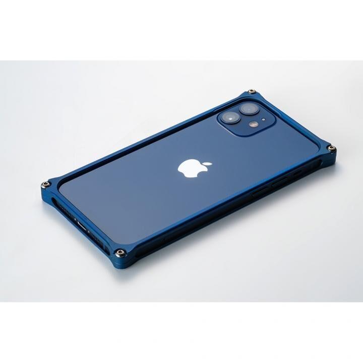 ギルドデザイン ソリッドバンパー for iPhone 12 mini マットブルー【3月中旬】_0