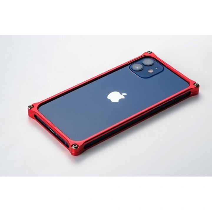 ギルドデザイン ソリッドバンパー for iPhone 12 mini レッド_0