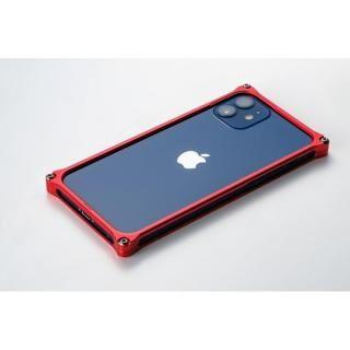 iPhone 12 mini (5.4インチ) ケース ギルドデザイン ソリッドバンパー for iPhone 12 mini レッド【2021年1月下旬】