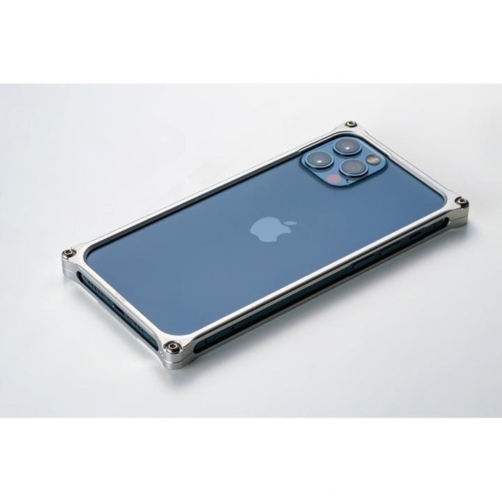 ギルドデザイン ソリッドバンパー for iPhone 12 Pro Max シルバー_0