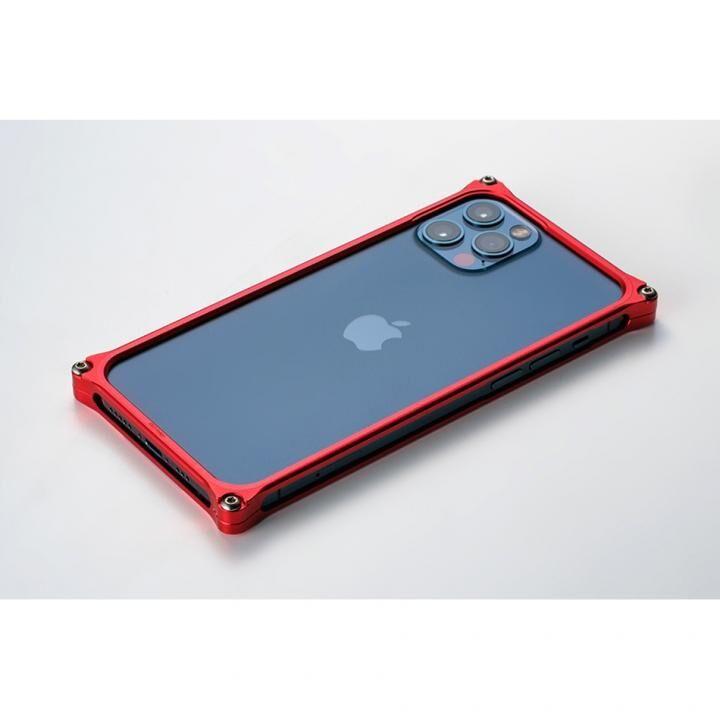 ギルドデザイン ソリッドバンパー for iPhone 12 Pro Max レッド_0
