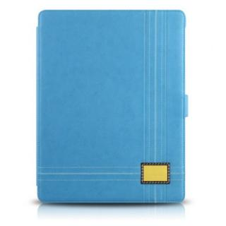 新しいiPadケース Masstige Color Point Folio ブルー